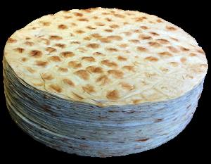 Pile of circle Lavash